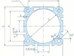 DNC 铝合金薄型气缸管