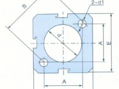 SJC 铝合金薄型气缸管B型
