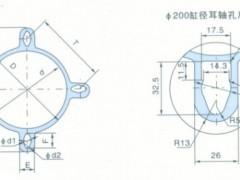 ST 铝合金米字形气缸管